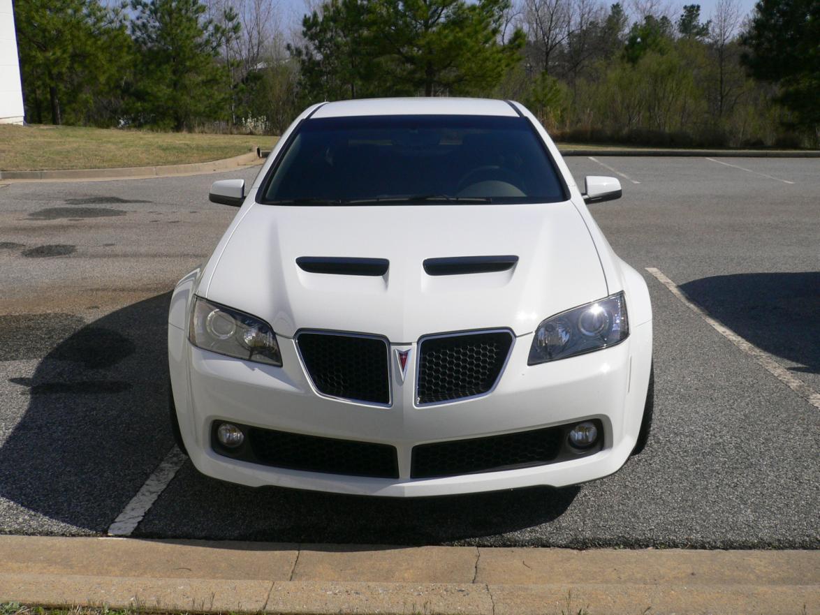 White W Black Hood Vents Pontiac G8 Forum