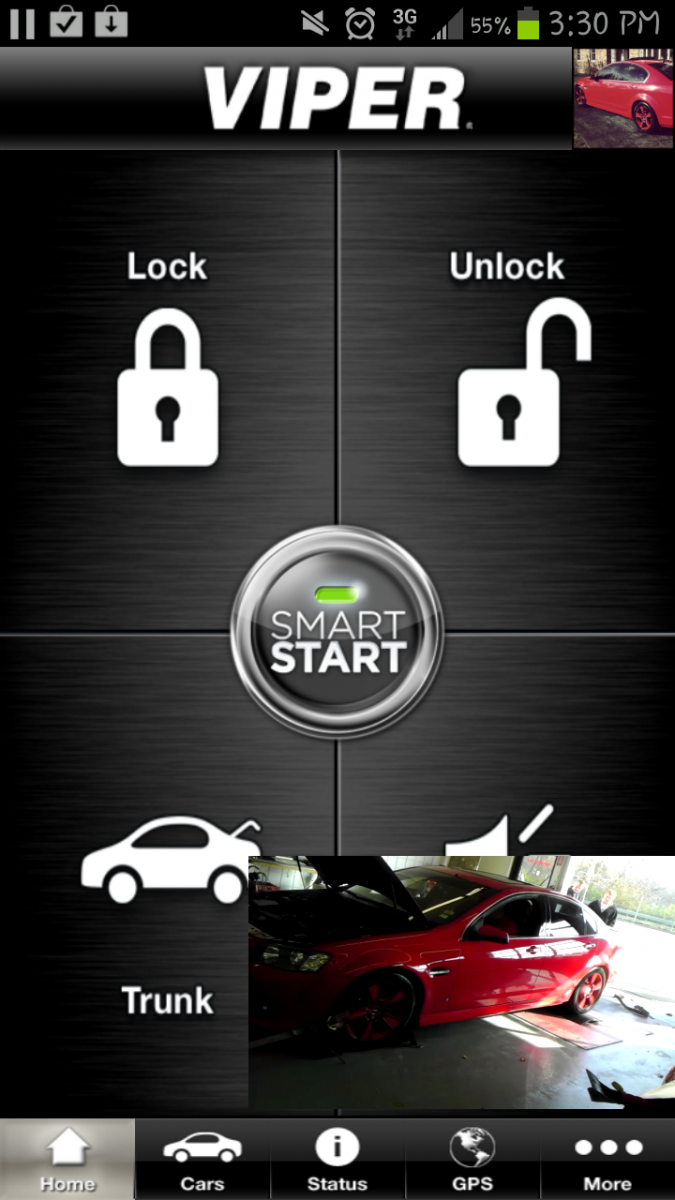 Just added the Viper smart start to my G8 GT on my Samsung G3