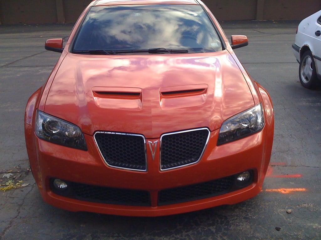 My new front Emblem!! | Pontiac G8 Forum