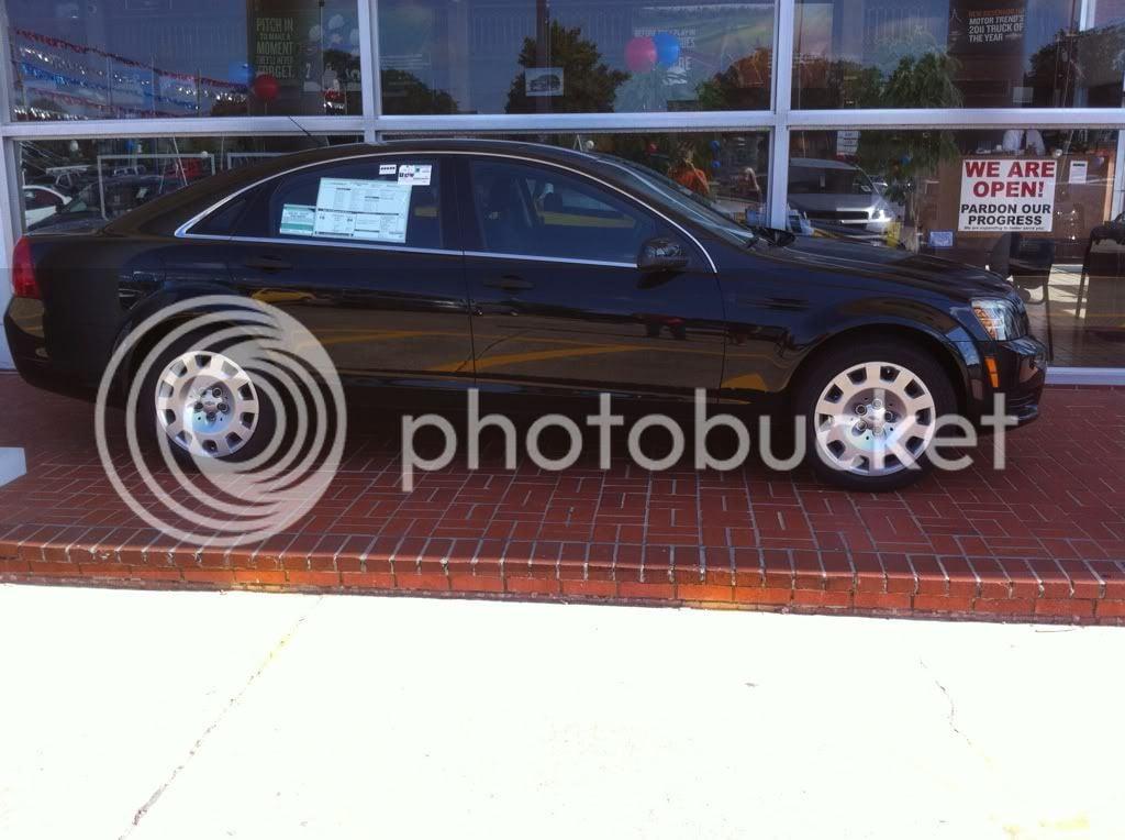 1st caprice delivered   Pontiac G8 Forum