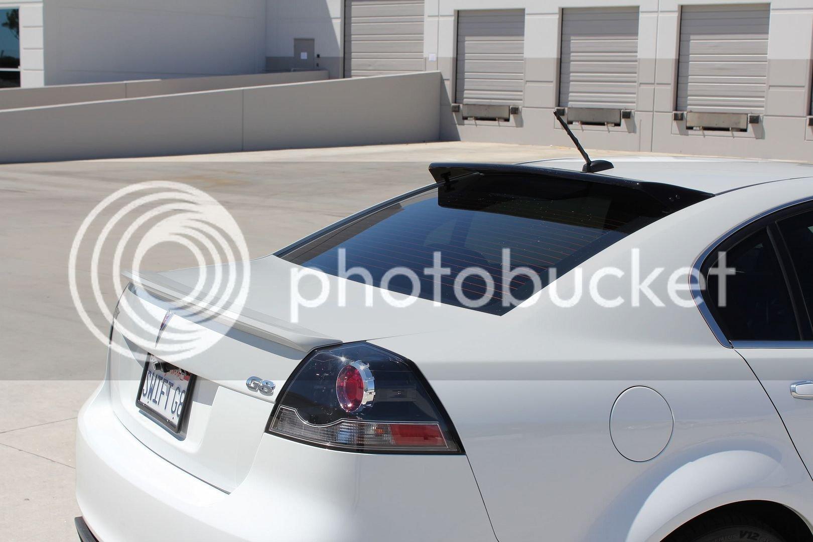 JHP VE Rear Sunshade Roof Spoiler | Pontiac G8 Forum
