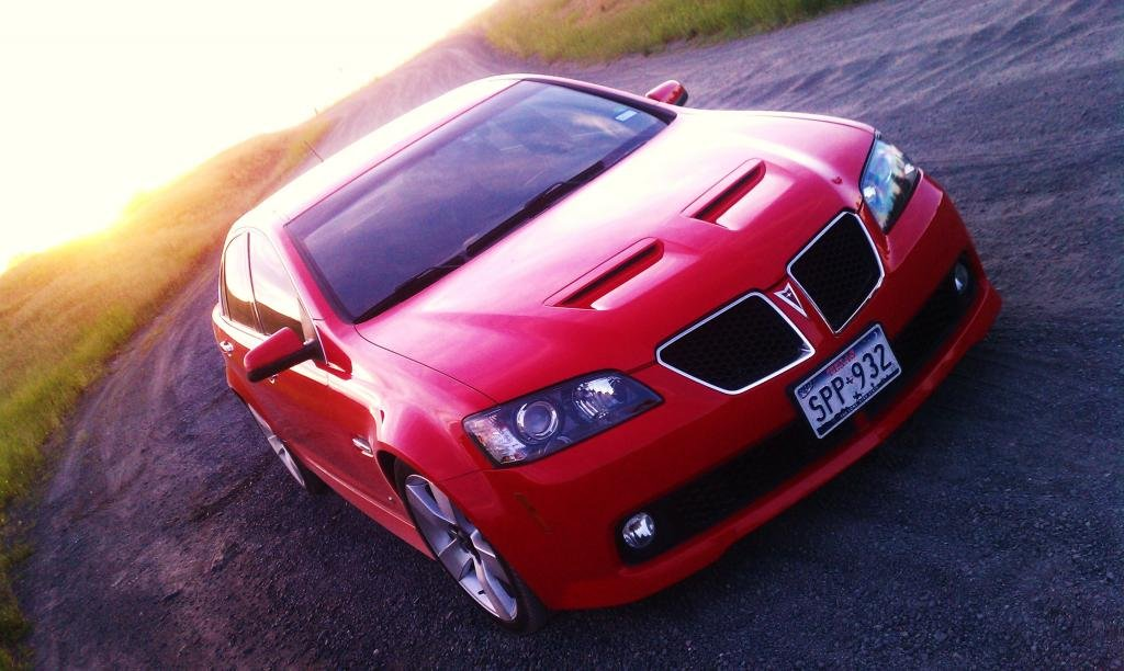 What intake is in this picture?   Pontiac G8 Forum