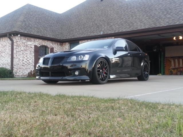 Pics of Recent Updates: GXP Front End, BC Coilovers, & Red