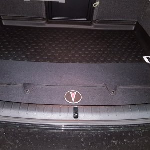 Trunk Liner and Cargo Organizer (Collapsed)