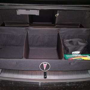 Trunk Liner and Cargo Organizer